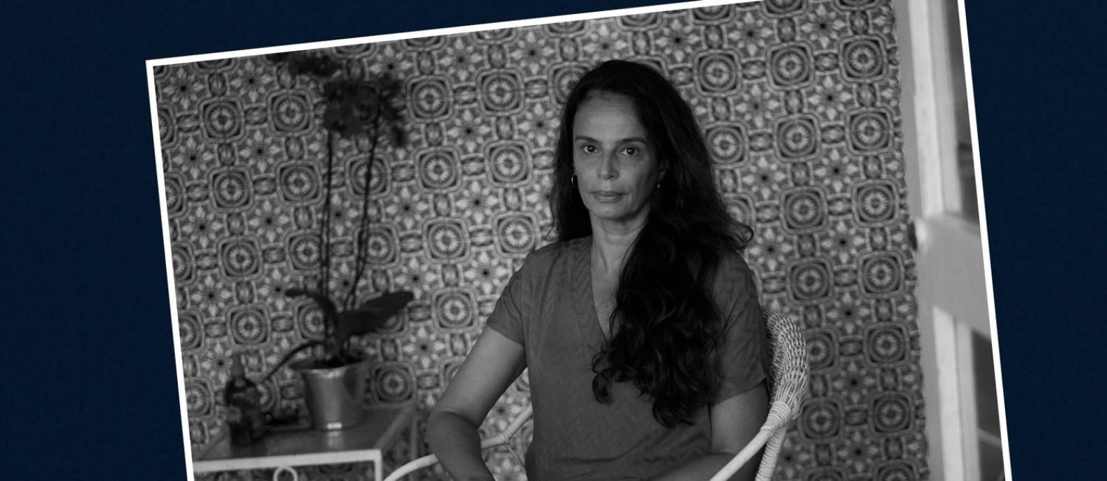 Alessandra Teixeira convenceu o pai de ser intubado Foto: Arquivo Pessoal