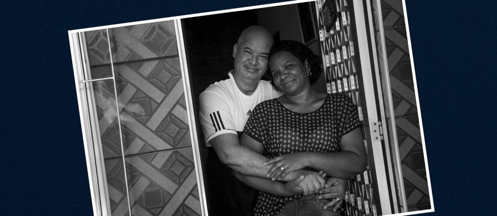 Tânia e Jorge estão juntos desde que ela tinha 11 anos e ele, 13 Foto: Arquivo pessoal