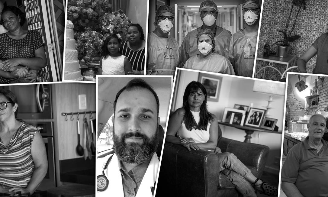 Leia as conversas entre pacientes com Covid-19 e seus parentes Foto: Montagem