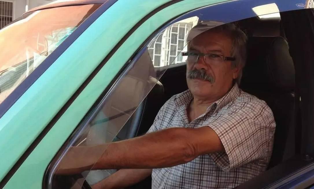 Foto ilustrativa de um motorista de taxi Foto: L. Constant