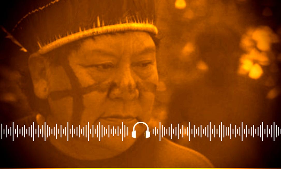 Davi Copenawa conduz roteiro do filme sobre os Yanomami, que será exibido no Festival de Berlim Foto: Arte