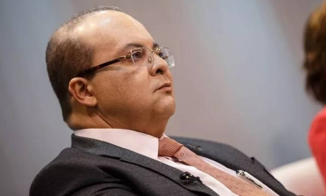 O governador do Distrito Federal, Ibaneis Rocha Foto: Daniel Marenco