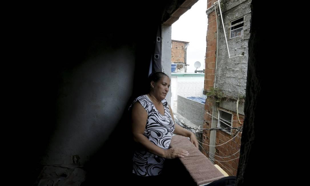 A janela só tem o vão Foto: Domingos Peixoto / Agência O Globo