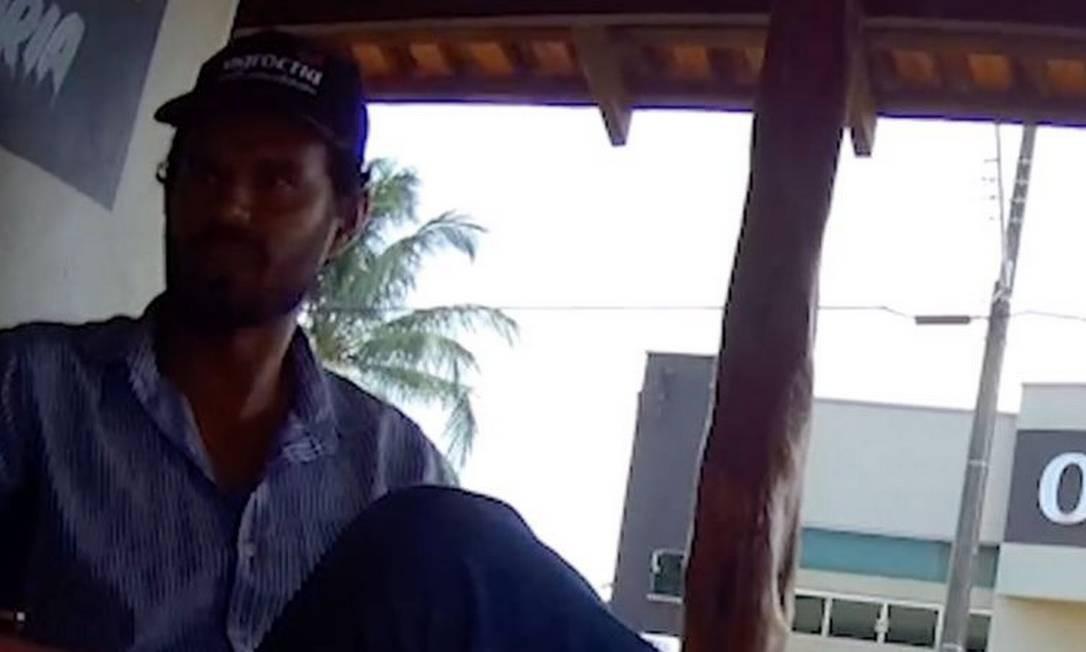 André Alves de Souza anunciou no Facebook um lote dentro da Reserva Extrativista Angelim, em Cujubim (RO). Foto: Reprodução