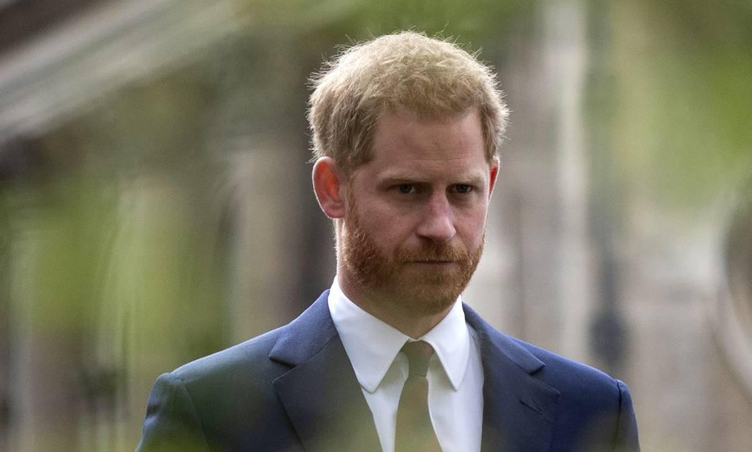 Príncipe Harry Foto: GEOFF PUGH / AFP