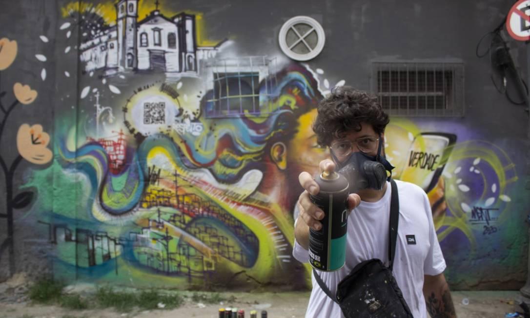 Marcelo Ment diz que sua obra abordará o respeito à vida Foto: Divulgação/Márcio Schimidt