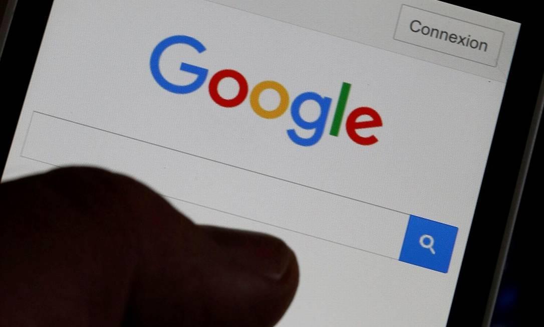 Google: processo acusa empresa de recollher dados mesmo em modo de navegação privada Foto: Regis Duvignau / REUTERS
