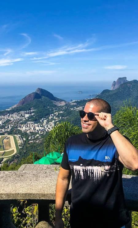 """Geografia privilegiada. O gestor de RH Alexandre Gomes garante que não há como não se encantar pela """"vibe positiva da cidade"""" Foto: Alexandre Gomes / Reprodução"""
