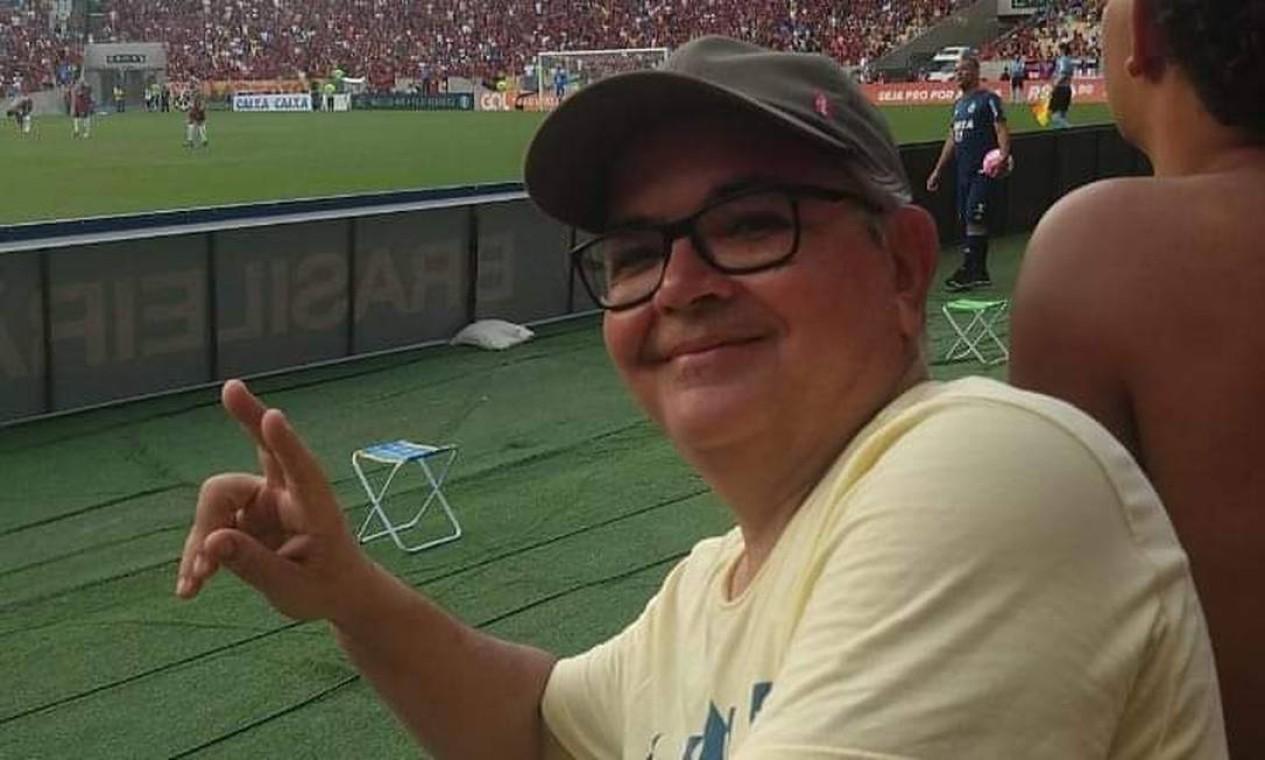 """""""FlaxFlu imperdível"""": é no Maracanã que Sérgio Emiliano exalta o Rio Foto: Sérgio Emiliano / Cortesia"""