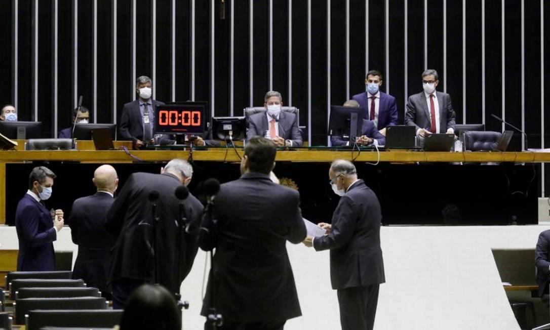 Sessão da Câmara dos Deputados Foto: Najara Araujo/Câmara dos Deputados