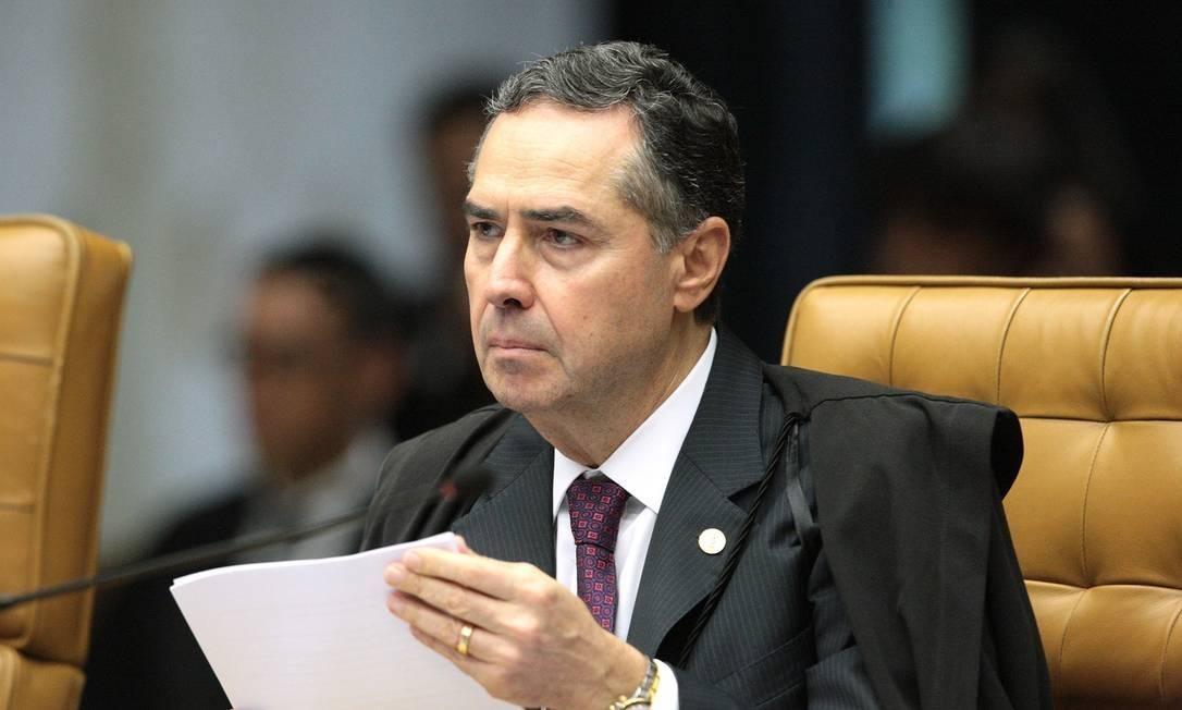 O ministro Luís Roberto Barroso Foto: Carlos Moura / STF