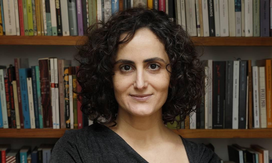 Escritora Tatiana Salem Levy, autora do livro Vista Chinesa Foto: @PEDRO LOUREIRO / Pedro Loureiro