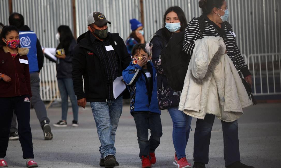 Biden envia ao Congresso projeto para dar cidadania a 11 milhões de imigrantes Foto: HERIKA MARTINEZ / AFP