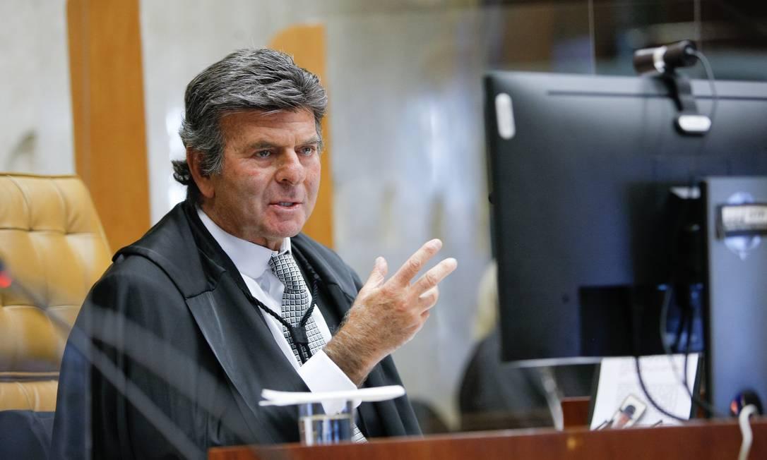 O presidente do STF, Luiz Fux Foto: Divulgação/STF