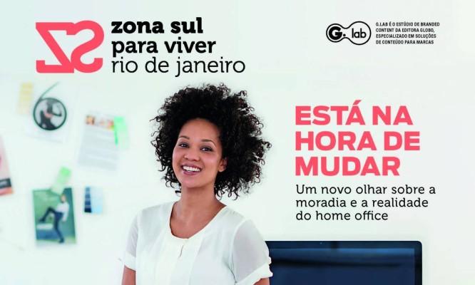 Capa revista Zona Sul Para Viver RJ 2021. Foto: Reprodução