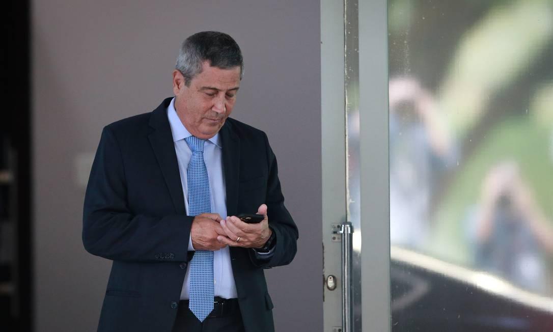 O ministro da Defesa, Braga Netto Foto: Pablo Jacob / O Globo - 08/05/2020