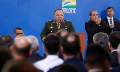 Pazuello assumiu Ministério da Saúde durante crise e ampliou presença de militares no governo Foto: Alan Santos / Agência O Globo