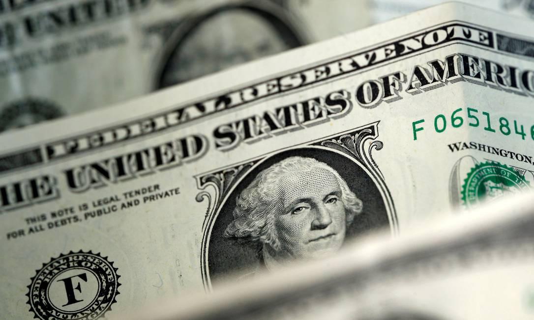 Moeda americana fechou a semana passada com alta de 4%, a R$ 5,6047 Foto: Dado Ruvic/Reuters / Reuters
