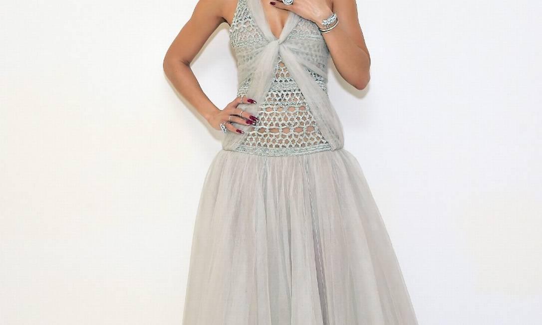 Andra Day veste um Chanel Foto: Getty Images