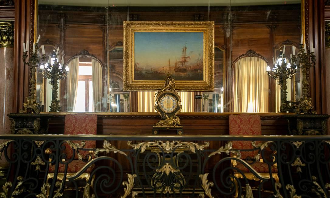 Visitas ao Palácio Laranjeiras serão sempre aos sábados, das 9h às 17h, e durarão de 40 minutos a 1 hora Foto: Brenno Carvalho / Agência O Globo