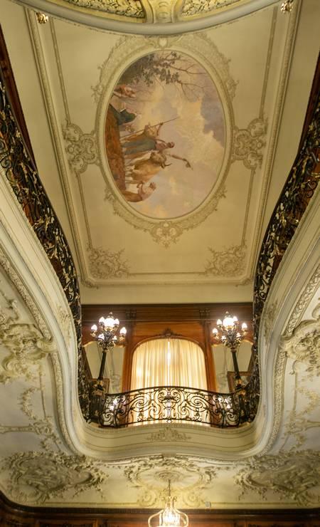 A família Guinle vendeu o Palácio Laranjeiras para a União em 1946 Foto: Brenno Carvalho / Agência O Globo
