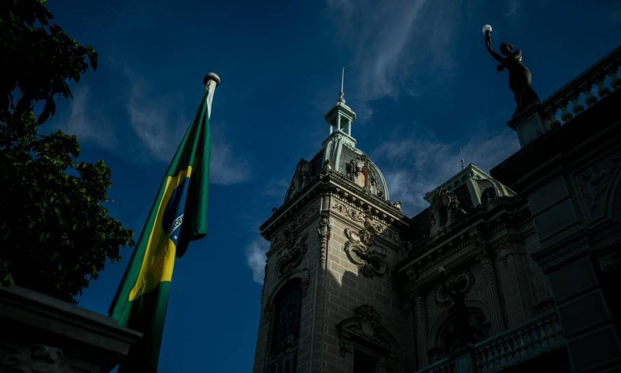 Agora, o programa de visitação ao Palácio Laranjeiras foi ideia do próprio governador em exercício do Rio, Claudio Castro Foto: Brenno Carvalho / Agência O Globo
