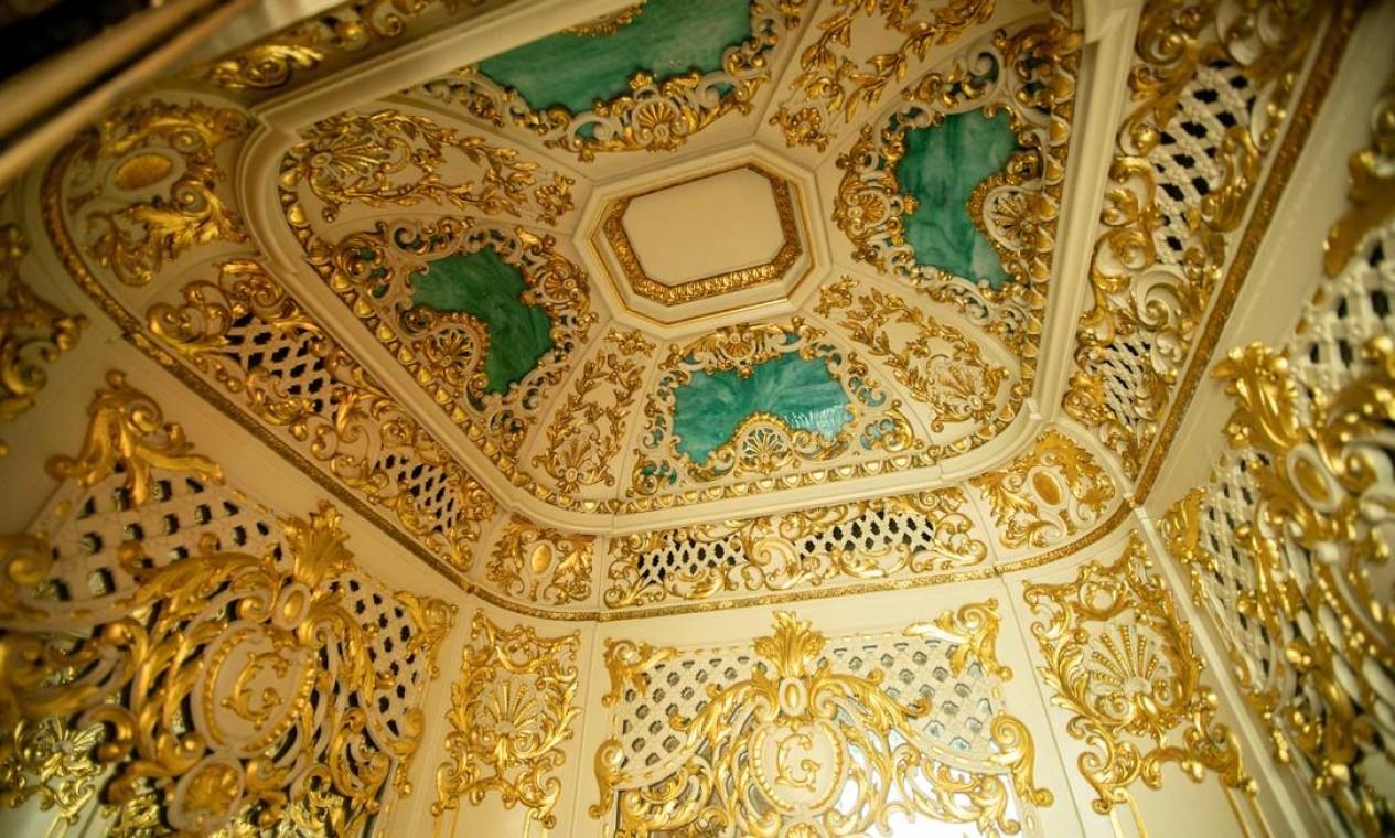 Palácio das Laranjeiras foi construído por Eduardo Guinle entre 1909 e 1913 Foto: Brenno Carvalho / Agência O Globo