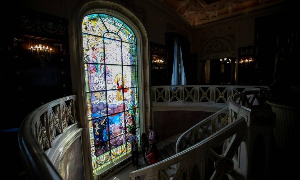 O governador Faria Lima foi o primeiro a morar no Palácio Laranjeiras Foto: Brenno Carvalho / Agência O Globo