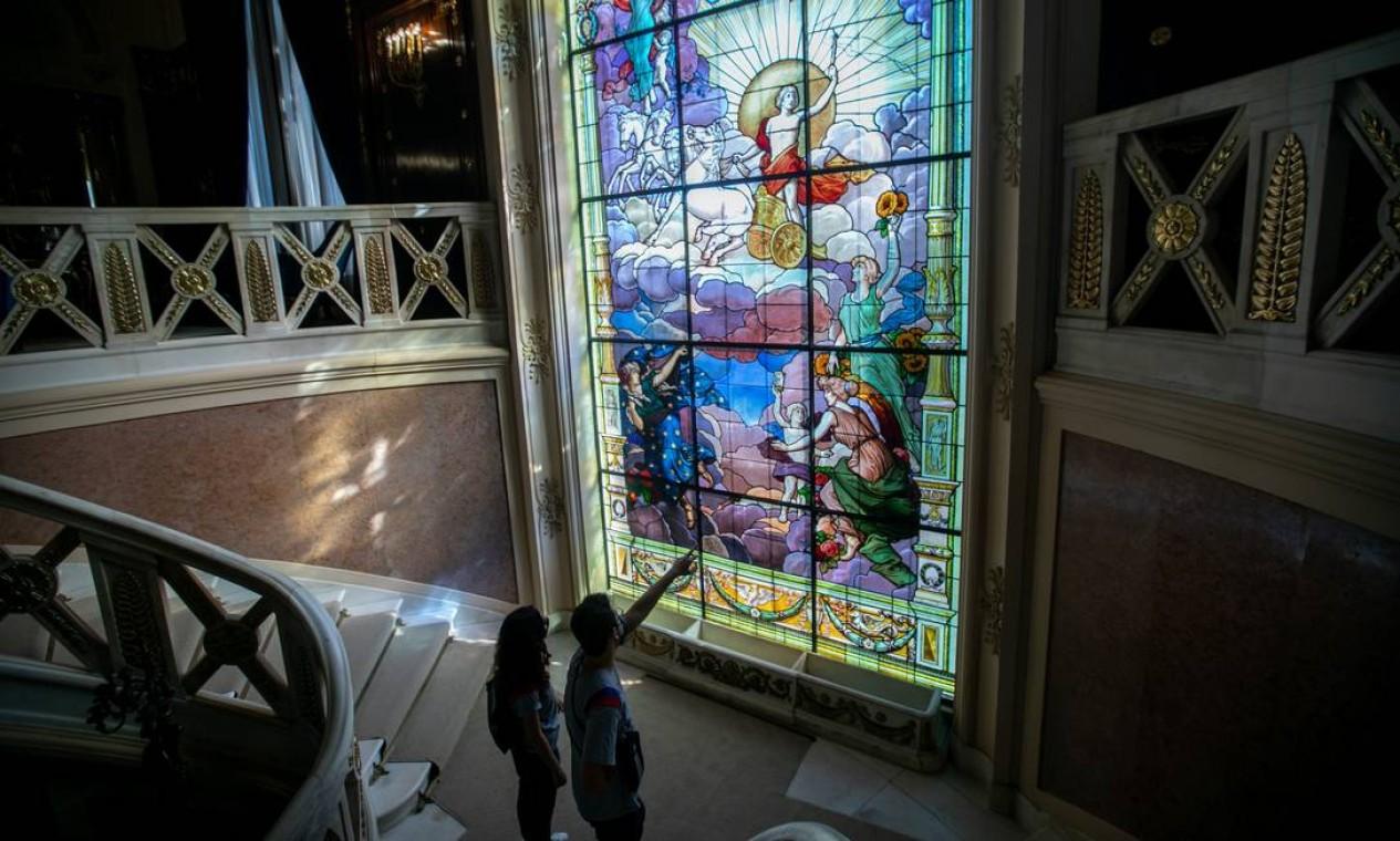 O projeto, que tem visitação ao Palácio Laranjeiras, será realizado em parceria com a Fecomércio RJ Foto: Brenno Carvalho / Agência O Globo