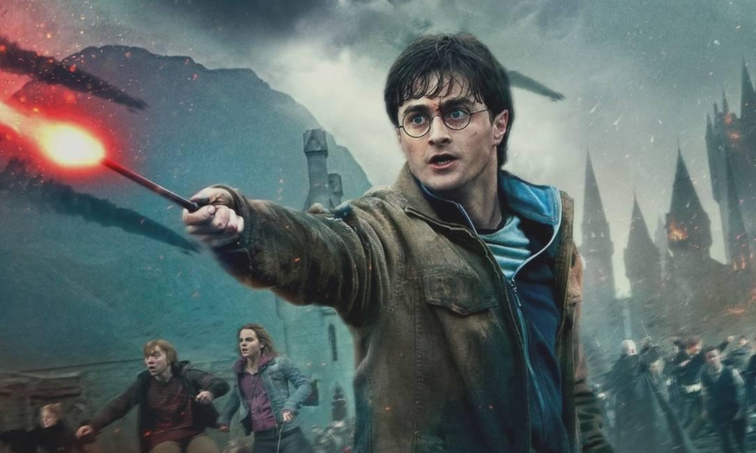 O filme Harry Potter, produção do estúdio Warner Bros é um dos produtos alvo da fusão entre a Warner e o Dicovery Foto: Divulgação