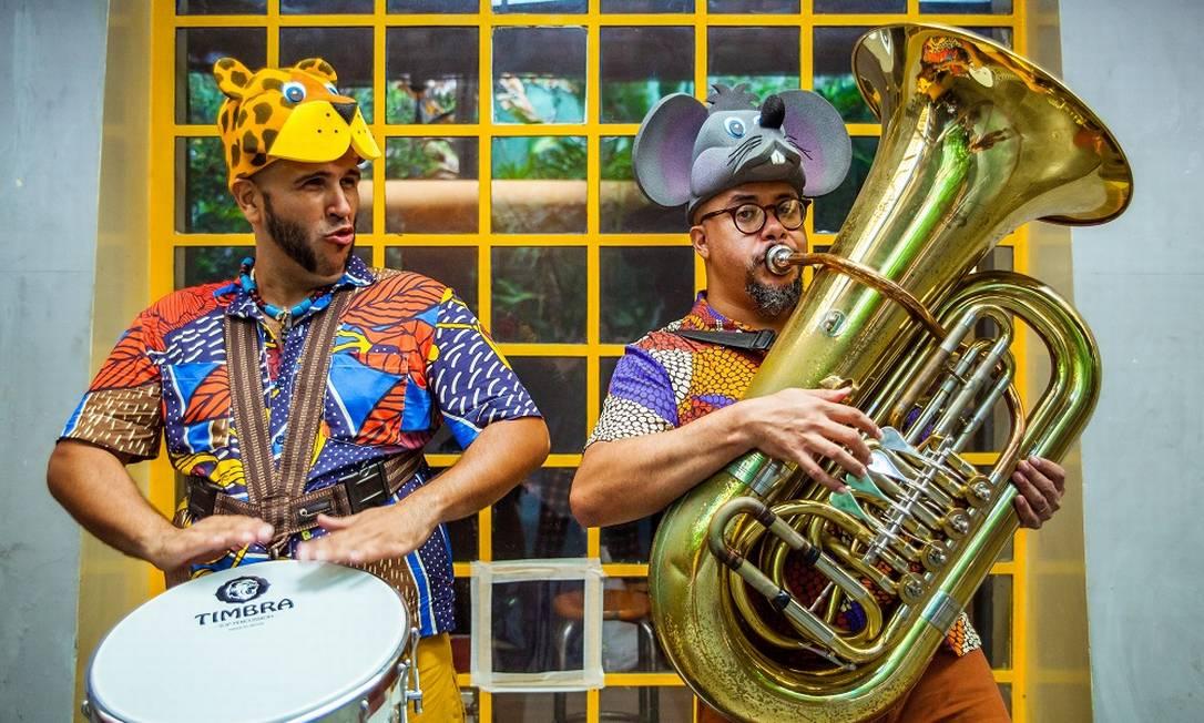Santiago Galdino e Álvaro Di Azevedo formam o Duo Fanfarrão Foto: Divulgação/Sabrina Mesquita