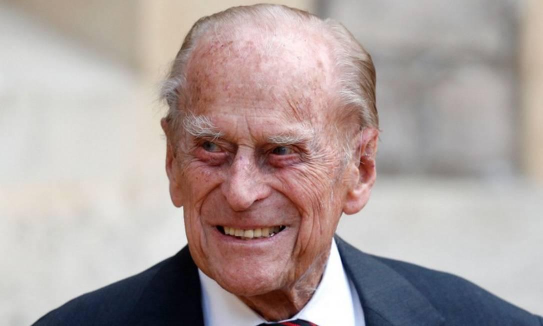 Príncipe Philip, marido da rainha Elizabeth II, durante evento em 22 de julho de 2020 Foto: ADRIAN DENNIS / AFP /22-7-2020