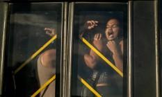 Sufoco: passageiros sofrem com ônibus do BRT lotado, em meio a pandemia de Covid-19 Foto: Brenno Carvalho / Agência O Globo