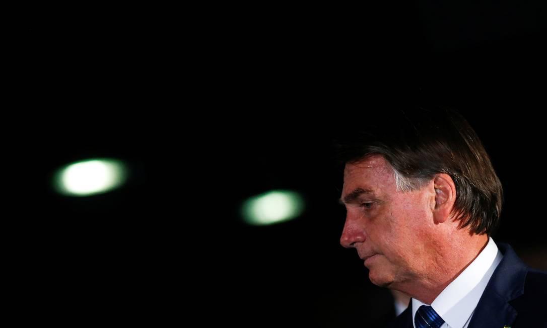 O presidente Jair Bolsonaro: prefeitos discordam de fala sobre compra de vacina Foto: ADRIANO MACHADO/REUTERS/23-2-2021