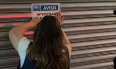 Equipes da Prefeitura chegaram a interditar o bar Venga, na Rua Dias Ferreira, no Leblon Foto: Divulgaçao