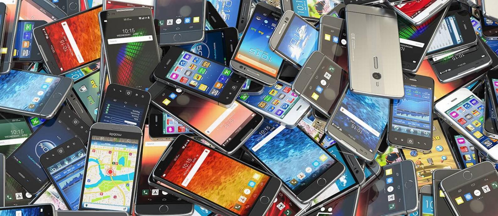 Smartphones Foto: Arquivo