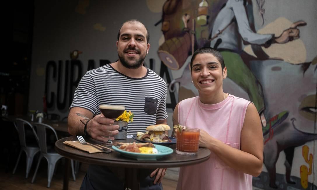 Na Curadoria, na Barra, os sócios apostam num brunch neste fim de semana Foto: Brenno Carvalho / Agência O Globo