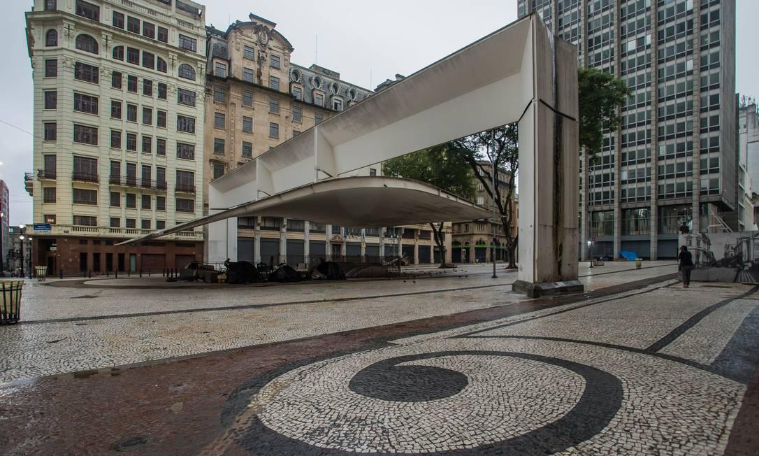 Fase vermelha é válida para 645 cidades de São Paulo Foto: Edilson Dantas / Agência O Globo