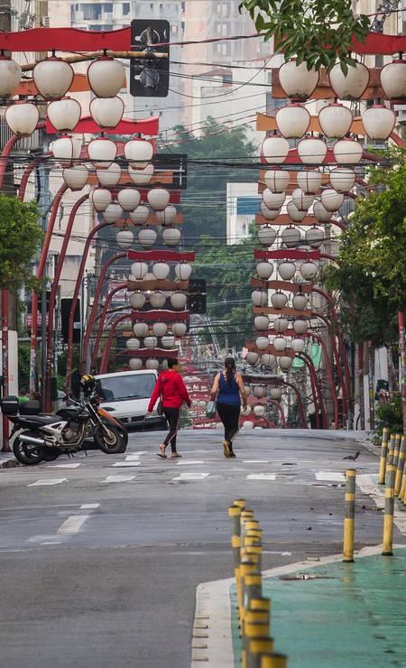 Rua Galvão Bueno, Liberdade Foto: Edilson Dantas / Agência O Globo