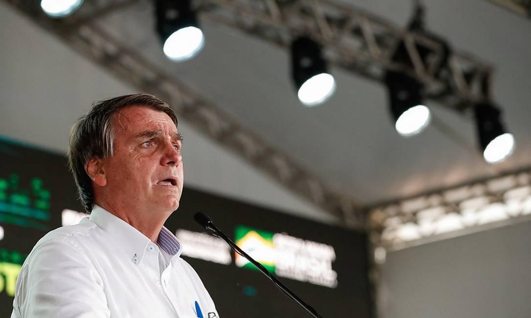 O presidente Jair Bolsonaro 04/03/2021 Foto: Alan Santos / Divulgação