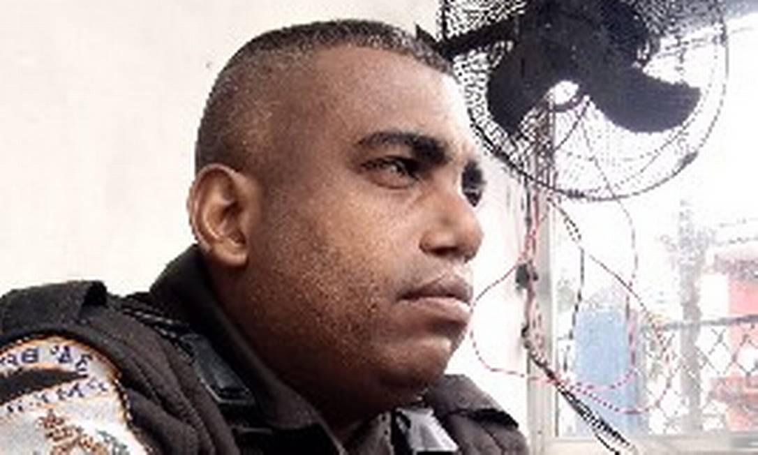 O cabo André Ribeiro Lopes do Nascimento, do 34º BPM Foto: Reprodução