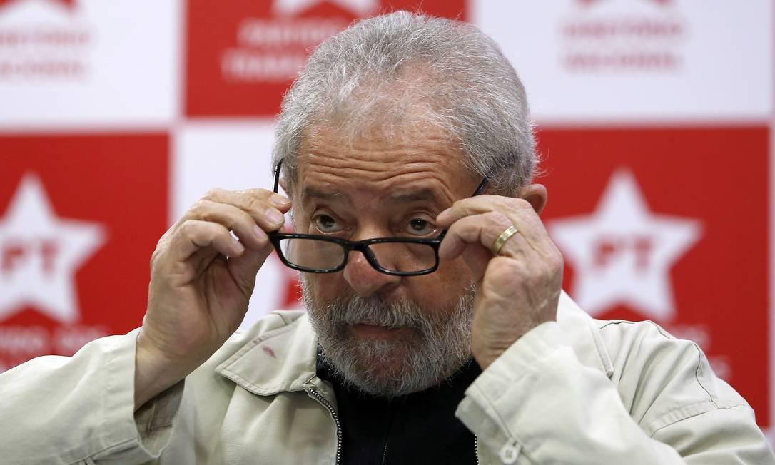 O ex-presidente Luiz Inácio Lula da Silva (PT): condenações dele foram anuladas pelo ministro Edson Fachin, do STF