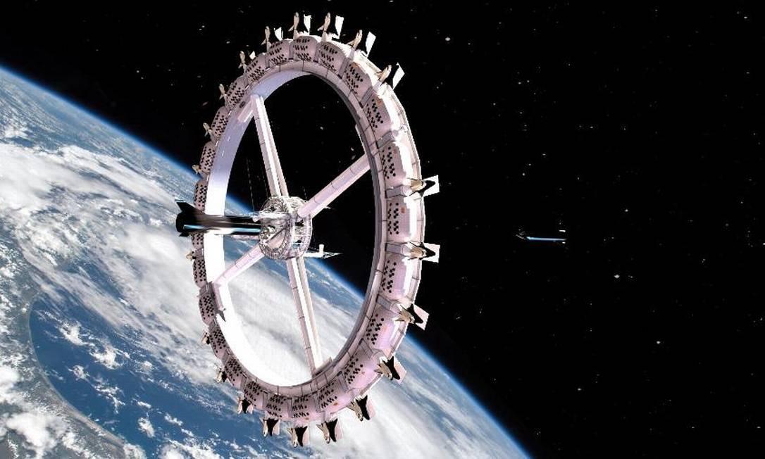 Projeto do Voyager Station Foto: Voyager Station/Divulgação