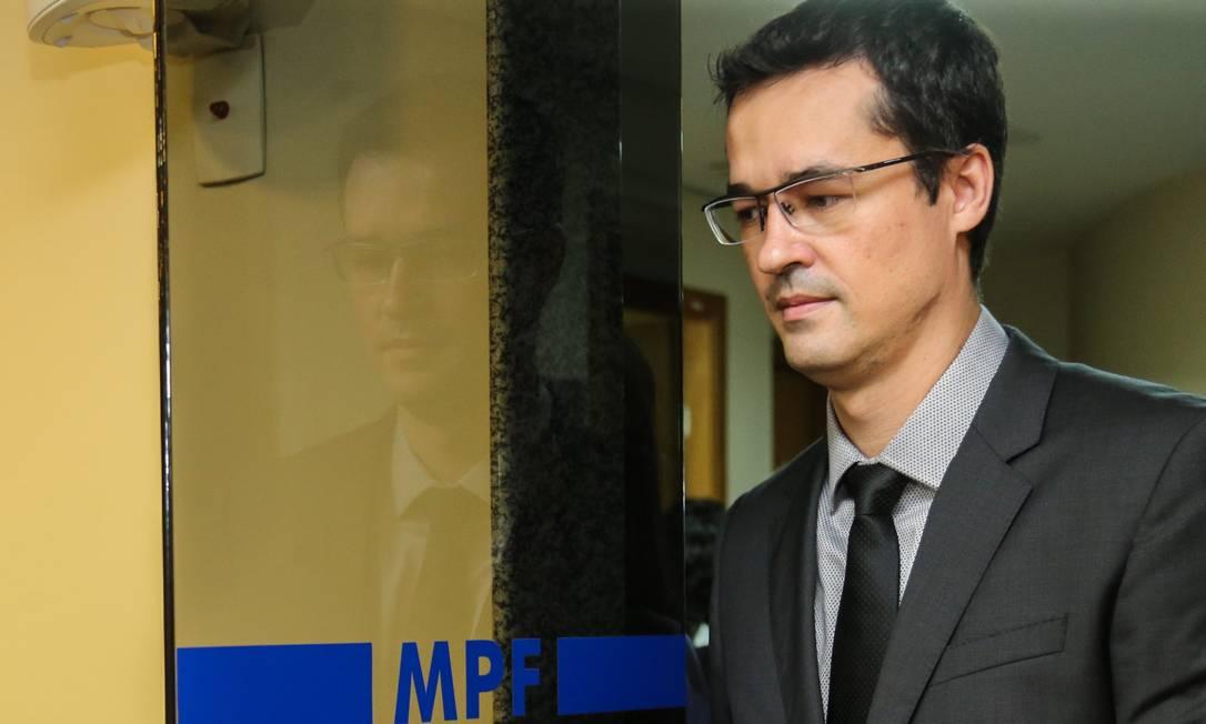 O procurador do MPF, Deltan Dallagnol, que deixou o comando da Lava-Jato em setembro de 2020 (16/03/2019) Foto: Geraldo Bubniak / Agência O Globo