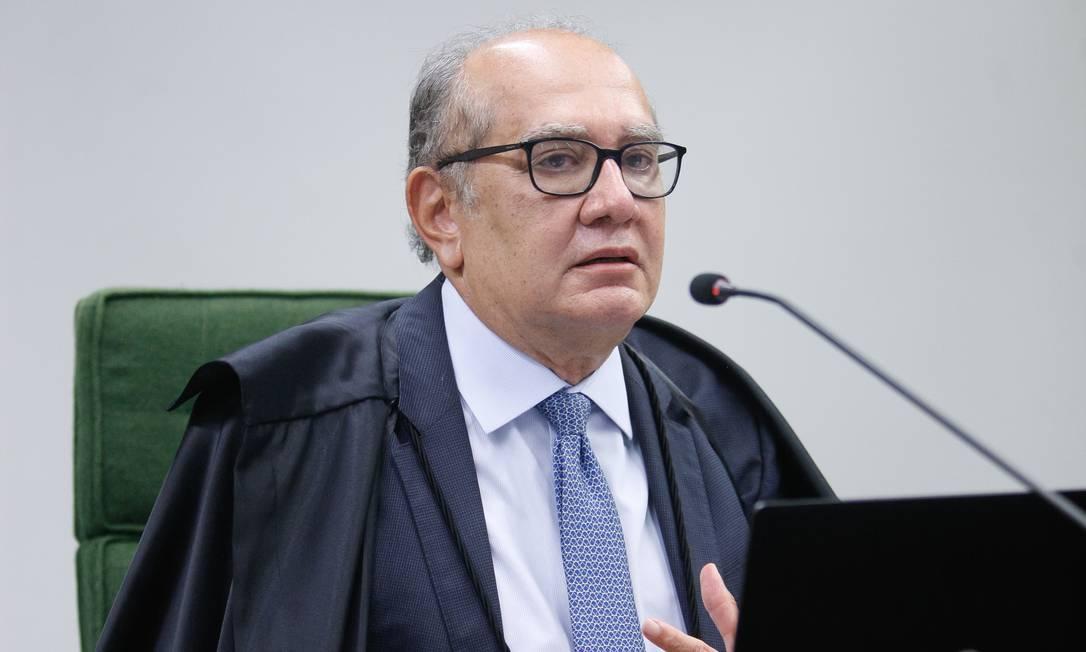 Ministro Gilmar Mendes declara voto a favor da suspeição de Moro na sessão da 2ª Turma do STF Foto: Fellipe Sampaio /SCO/STF