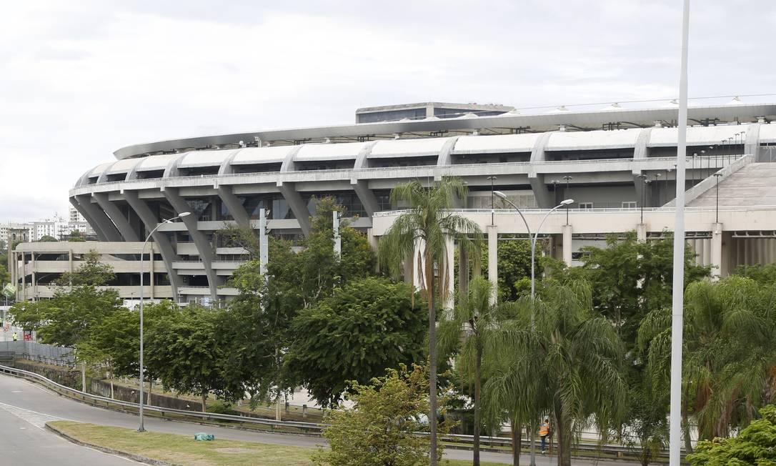 O estádio do Maracanã Foto: Fábio Rossi / Agência O Globo/21.02.2021