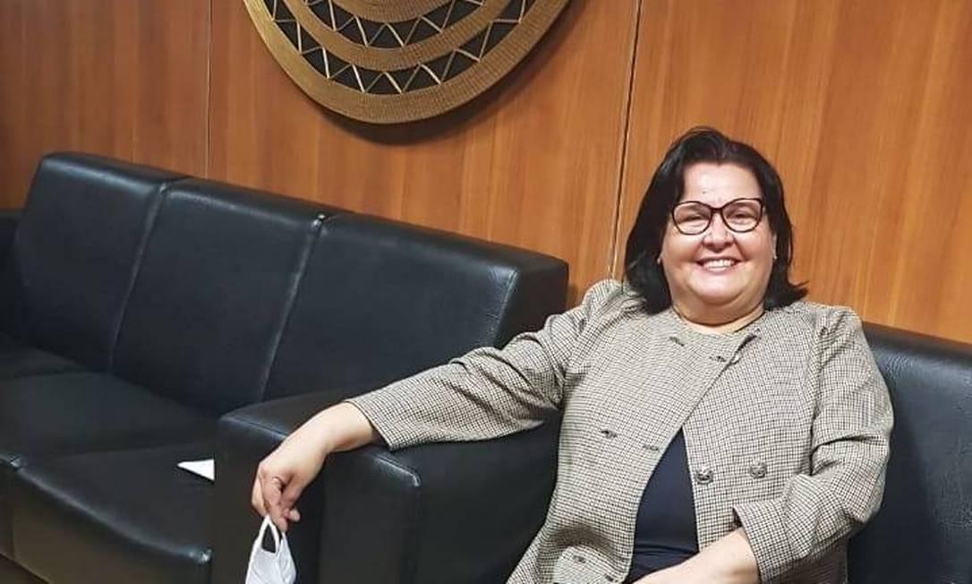 A professora Sandra Lima de Vasconcelos Ramos Foto: Reprodução/Facebook