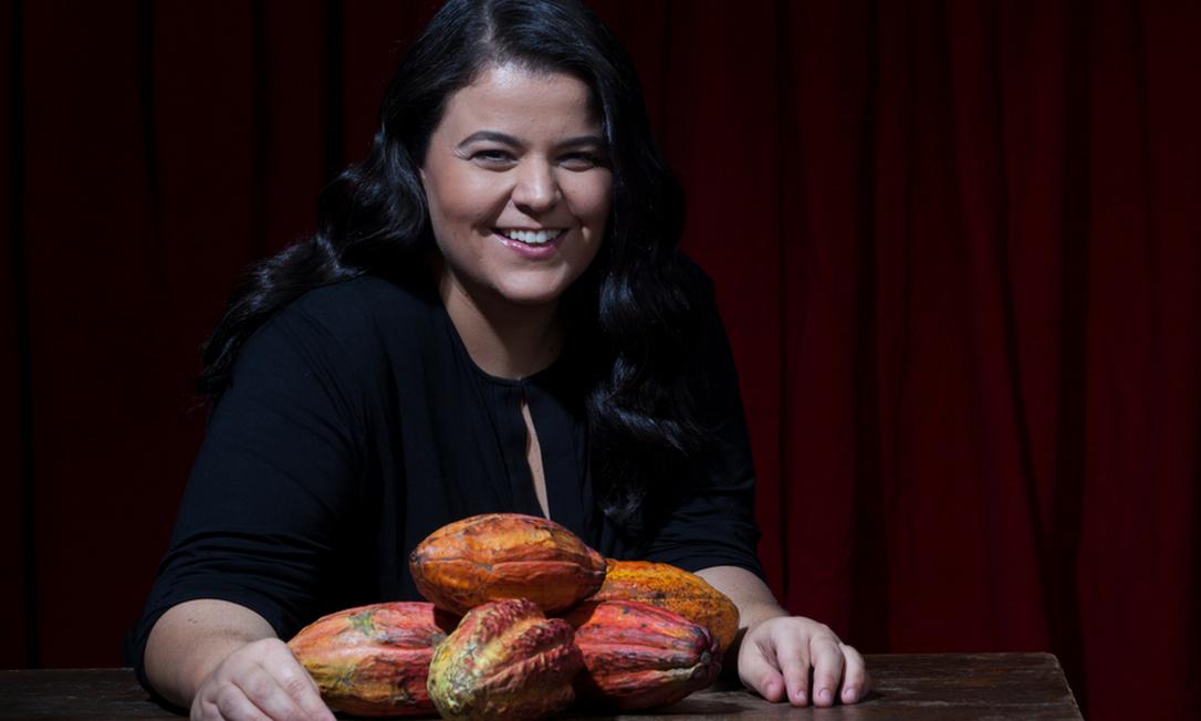 Samanta Aquim: criadora do chocolate Q Foto: Divulgação