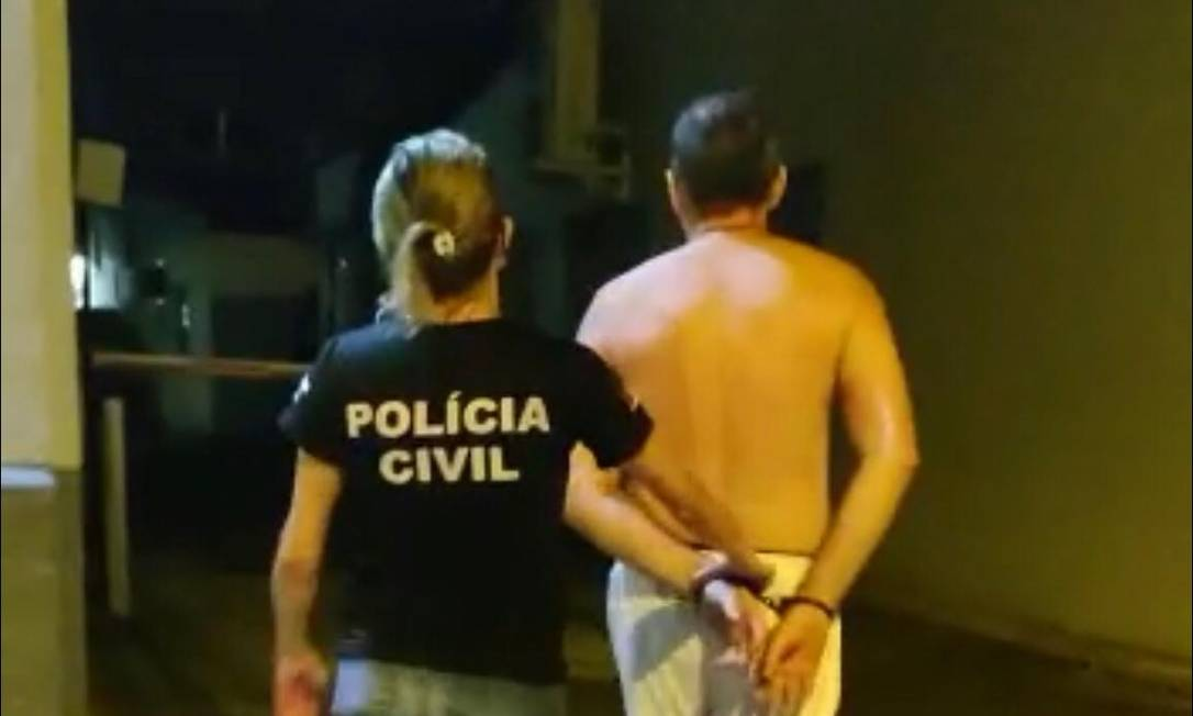 Pai de santo preso em Porto Alegre por abusar sexualmente de mulheres em rituais religiosos Foto: Divulgação/ Polícia Civil RS