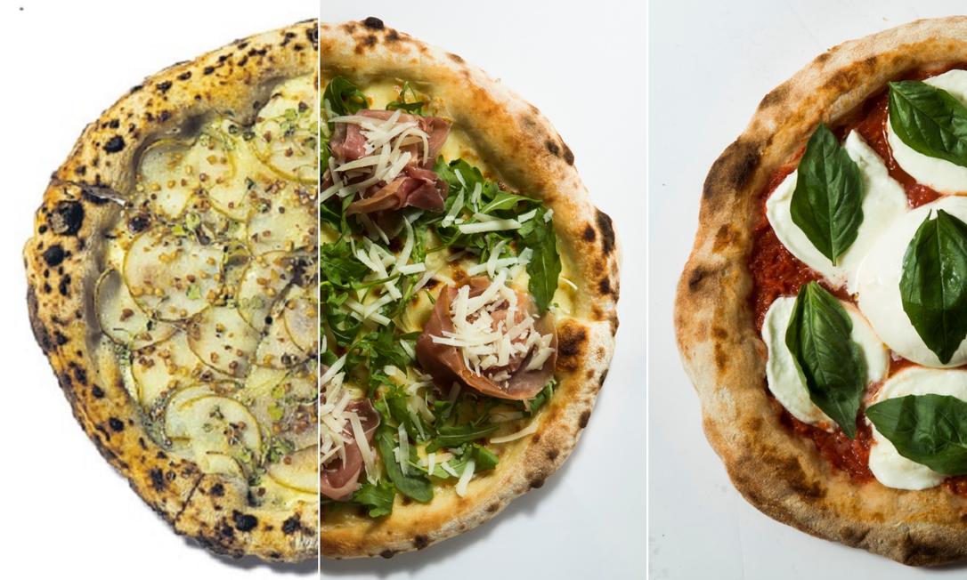 Test-drive de pizzas Foto: Montagem com fotos de Guito Moreto